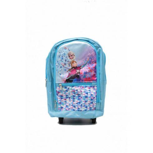 Gyermek hátizsák, Jégvarázs, poliészter, kék