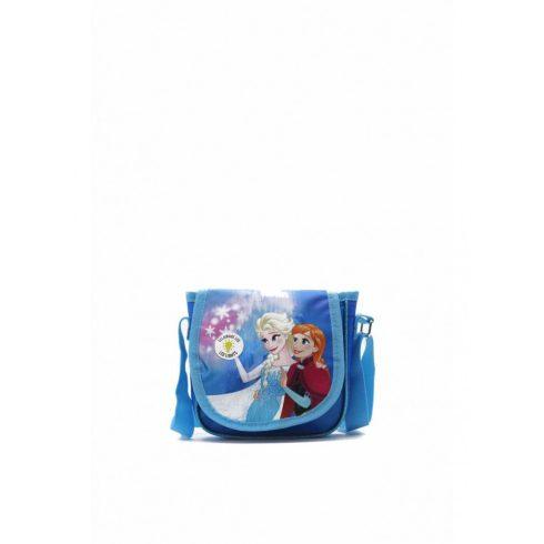Gyermek válltáska, Jégvarázs, poliészter, kék