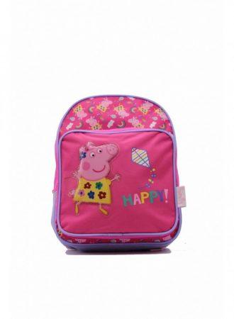 Gyerekhátizsák, Pappa Pig, poliészter, rózsaszín