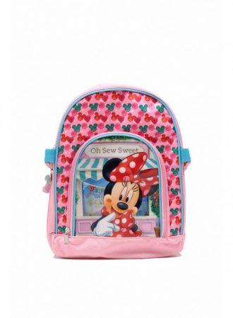 Gyerekhátizsák Disney motívummal, poliészter, rózsaszín