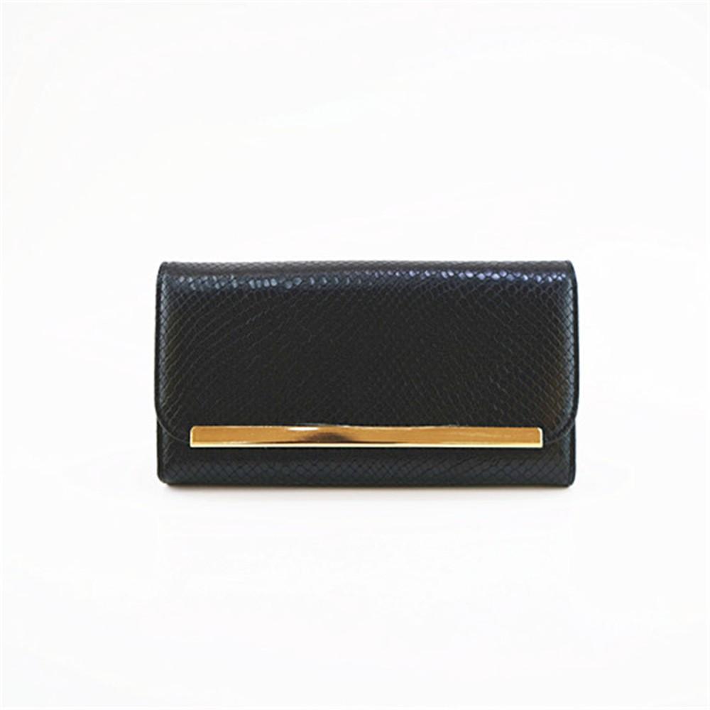 Kígyóbőr mintás női pénztárca d141e20602